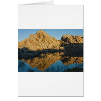Desert reflections greeting cards