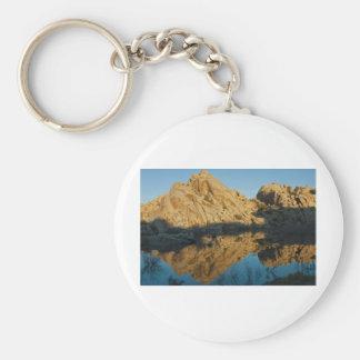 Desert reflections key chains
