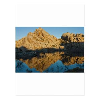 Desert reflections postcard