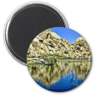 Desert Reflections Refrigerator Magnets