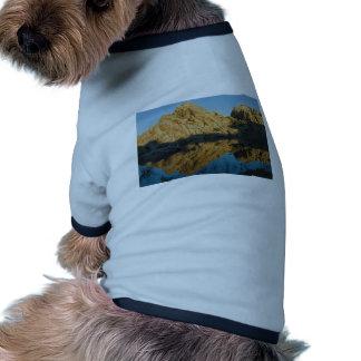Desert reflections ringer dog shirt