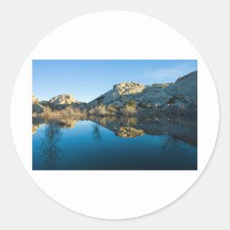 Desert Reflections Stickers
