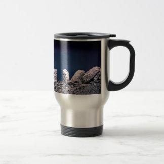 Desert rocks travel mug