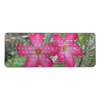 Desert Roses Wireless Keyboard
