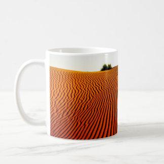 Desert sand coffee mug