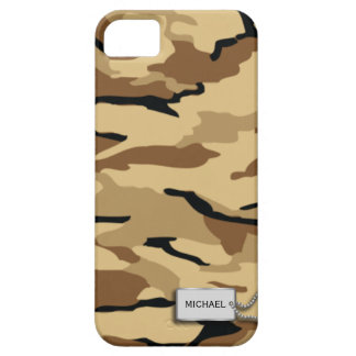 Desert Sand Military Camouflage Barely There iPhone 5 Case