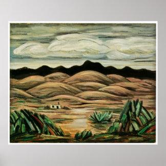 Desert Scene by Marsden Hartley 1911 Poster