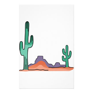 DESERT SCENE STATIONERY