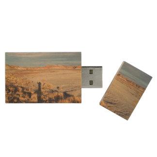 Desert Shadow USB Flash Drive Wood USB 3.0 Flash Drive