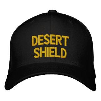 DESERT SHIELD EMBROIDERED BASEBALL CAP