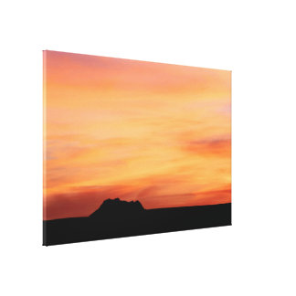 Desert Skies Photography Canvas Print