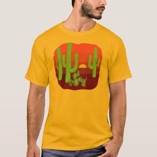 Desert Skulls Cacti Sunset T-Shirt