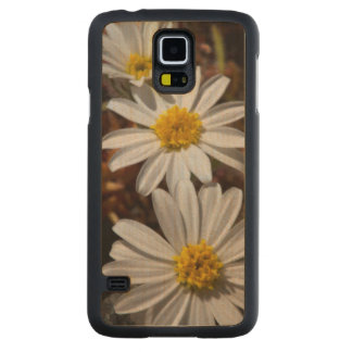 Desert Star Wildflowers Carved Maple Galaxy S5 Case
