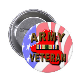 Desert Storm ARMY Veteran 6 Cm Round Badge