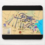 DESERT STORM MAP Mousepad