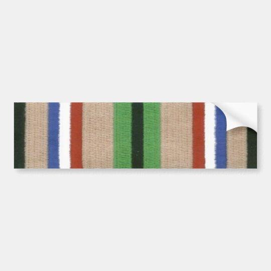 Desert Storm Service Ribbon Bumper Sticker
