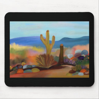 Desert Summer Heat Mousepad