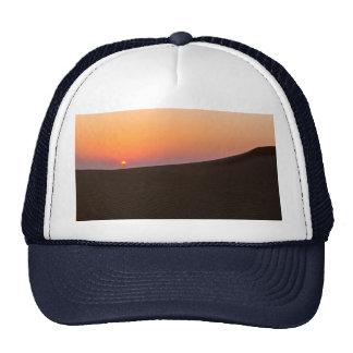 Desert sunset in Dubai Mesh Hat