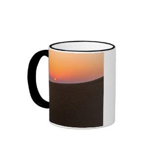 Desert sunset in Dubai Coffee Mug