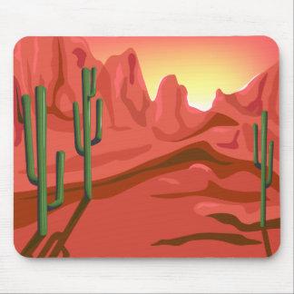Desert Sunset Red Rock Mousepad