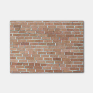 Desert Tones Brick Wall Post-it® Notes