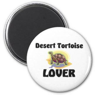 Desert Tortoise Lover 6 Cm Round Magnet