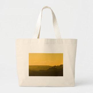Desert View Sunset Jumbo Tote Bag