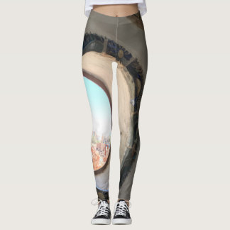 Desert views leggings