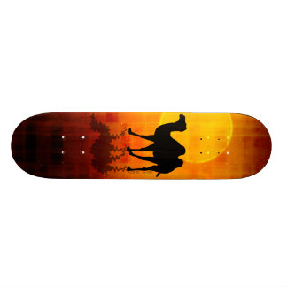 Desert Walk by Gery Sher 21.6 Cm Skateboard Deck