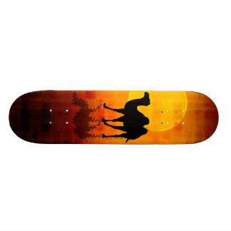 Desert Walk by Gery Sher Skate Board Decks