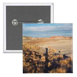Desert Wave: Petrified Forest National Park 15 Cm Square Badge
