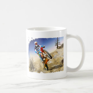 Desert Wheelie Motocross Coffee Mug