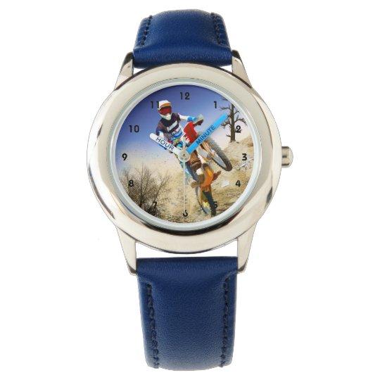 Desert Wheelie Motocross Wrist Watches