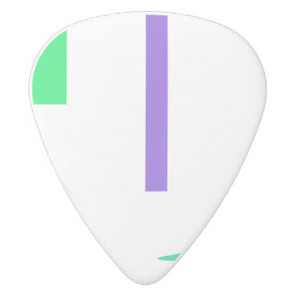 Desert White Delrin Guitar Pick
