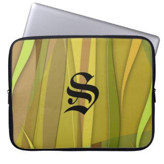 Desert Zephyr Monogrammed Laptop Sleeve