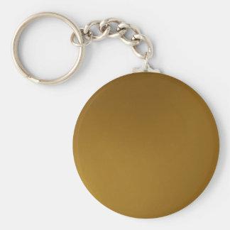 desertcamel colour basic round button key ring