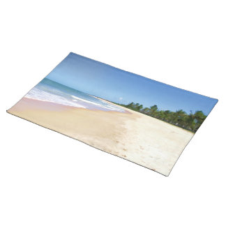 Deserted Beach Placemat