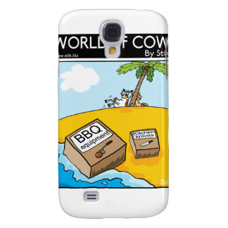 Deserted Cow Galaxy S4 Case