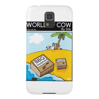 Deserted Cow Galaxy S5 Case