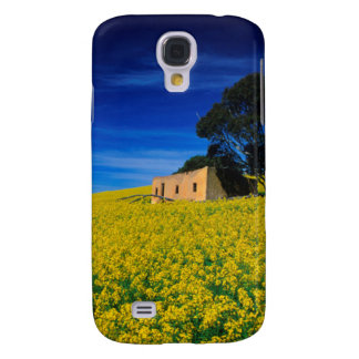 Deserted Shack In Canola Fields, Caledon Galaxy S4 Case