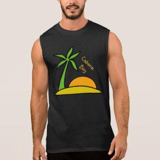 Deserted Tropical Island Sleeveless T-shirt