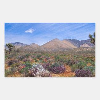 Deserts Bloom Conservation Area Rectangular Sticker