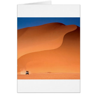 Deserts Sahara Algeria Card