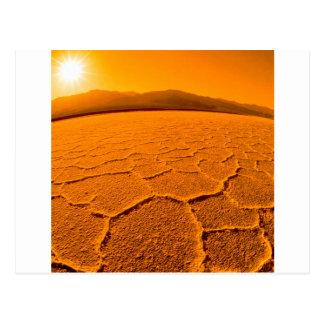 Deserts Thirsty Death Valley Postcard