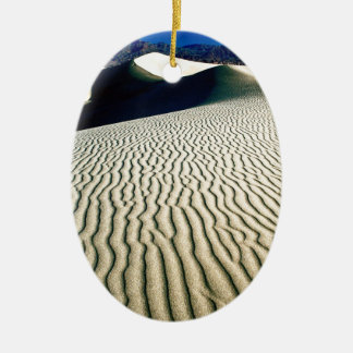 Deserts Wind Etchings Death Valley Christmas Ornament