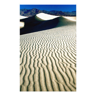 Deserts Wind Etchings Death Valley Customised Stationery