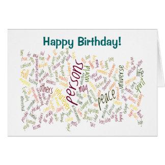 Desidera R ta birthday card