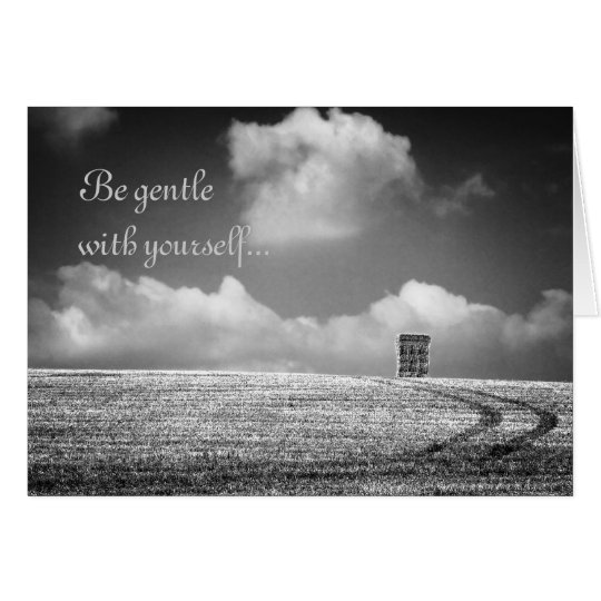 Desiderata Be Gentle notelet / card