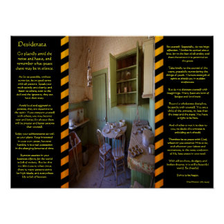 DESIDERATA Ghost Room Posters