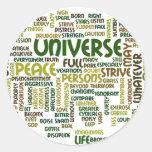 Desiderata Motivational Poem Words Tag Sticker